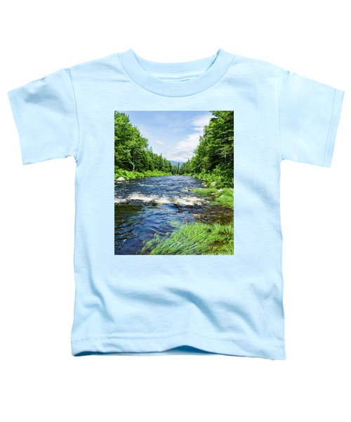 Summer Scene Rangeley Maine  -70742 Toddler T-Shirt