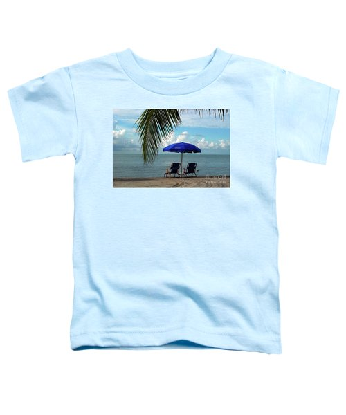 Sunday Morning At The Beach In Key West Toddler T-Shirt