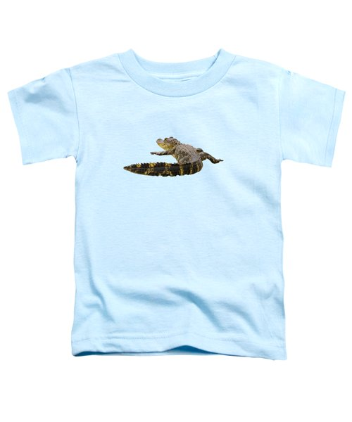 Sunning On The Shore Toddler T-Shirt by Zina Stromberg