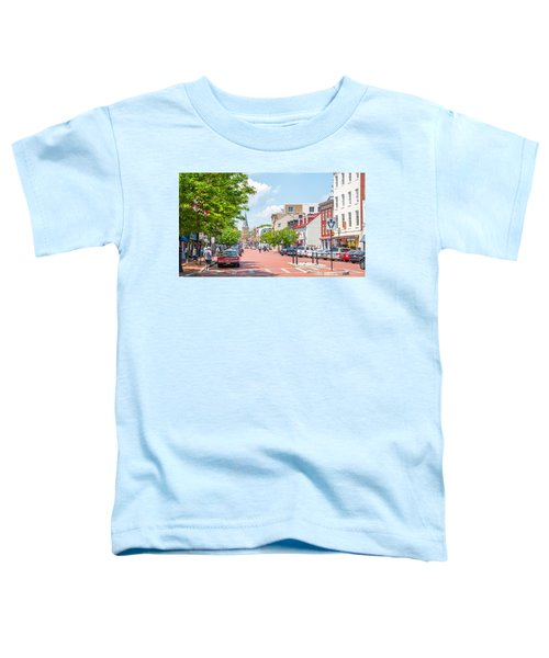 Sunny Day On Main Toddler T-Shirt