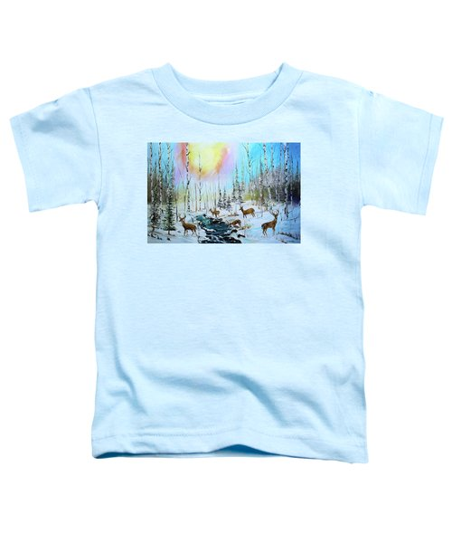 Sunny Winter Toddler T-Shirt
