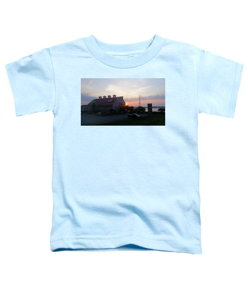 Sunrise At Hooper's Crab House Toddler T-Shirt
