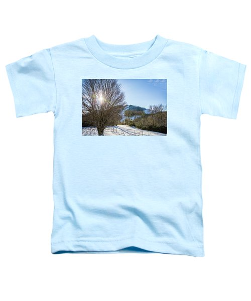 Sunrise Over Cataloochee Ski Toddler T-Shirt