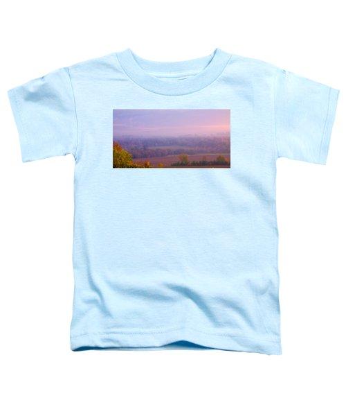 Sunrise Over Mid Valley 2 Toddler T-Shirt