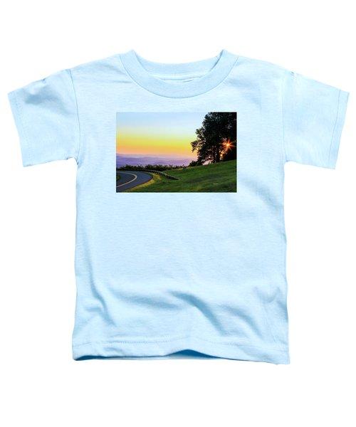 Sunrise Waves Toddler T-Shirt