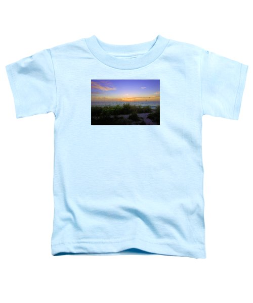 Sunset At Barefoot Beach Preserve In Naples, Fl Toddler T-Shirt