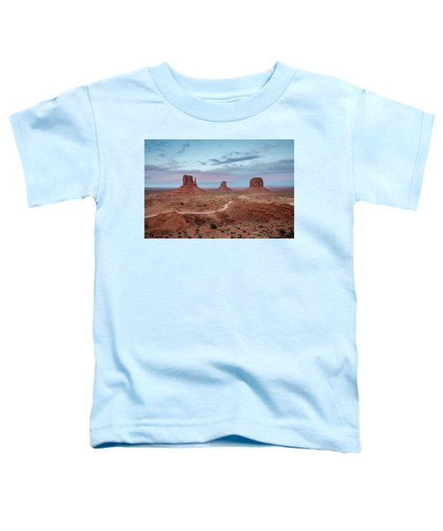 Sunset At Monument Valley No.1 Toddler T-Shirt