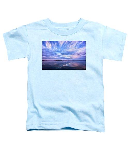 Sunset Awe  Signed Toddler T-Shirt