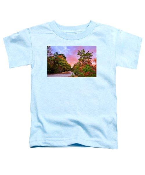 Sunset On Bombing Run Road Toddler T-Shirt