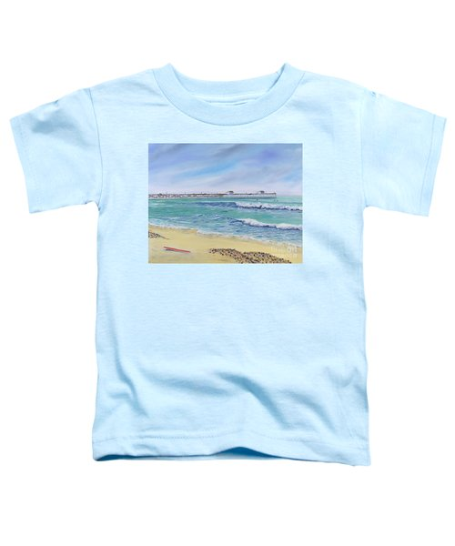 Surfing In San Clemente Toddler T-Shirt