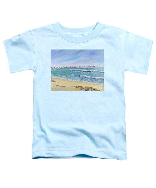 Surfing In San Clemente Toddler T-Shirt