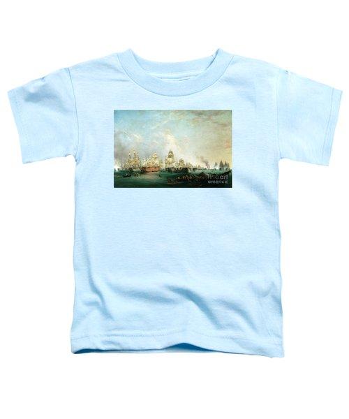 Surrender Of The Santissima Trinidad To Neptune The Battle Of Trafalgar Toddler T-Shirt