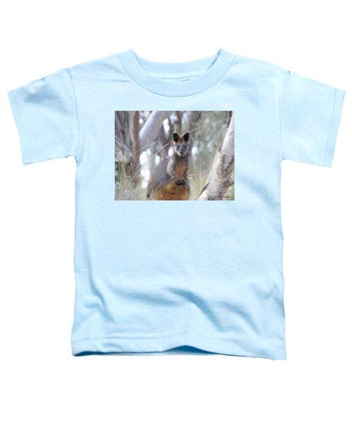 Swamp Wallaby Toddler T-Shirt