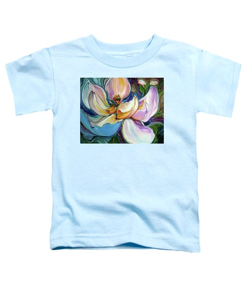 Sweet Magnoli Floral Abstract Toddler T-Shirt