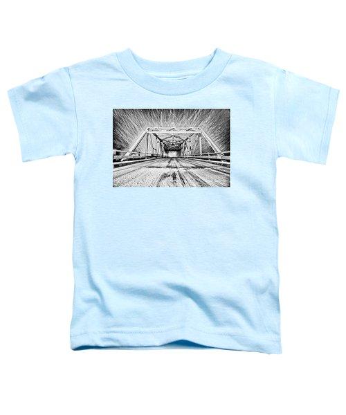 Swing Bridge Blizzard Toddler T-Shirt
