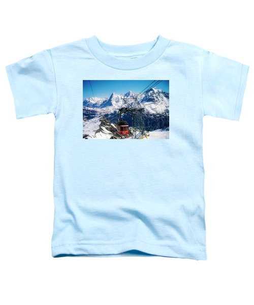 Switzerland Alps Schilthorn Bahn Cable Car  Toddler T-Shirt