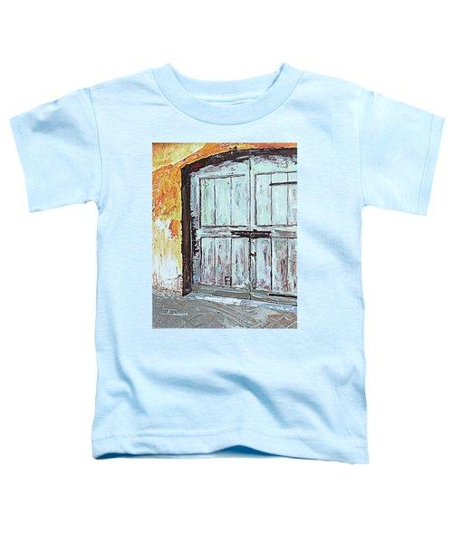 Switzerland Mint Door Toddler T-Shirt