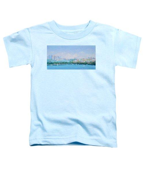 Sydney Harbour Bridge - Sydney Opera House - Sydney Harbour Toddler T-Shirt by Jan Matson