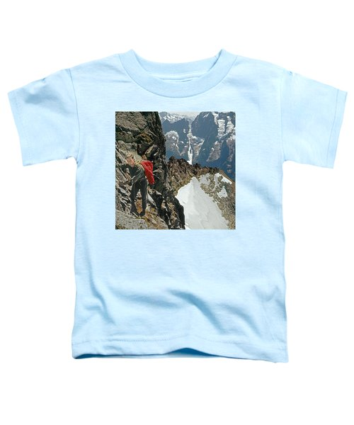 T-04403 Walt Buck Sellers On First Ascent Of Mt. Torment Toddler T-Shirt