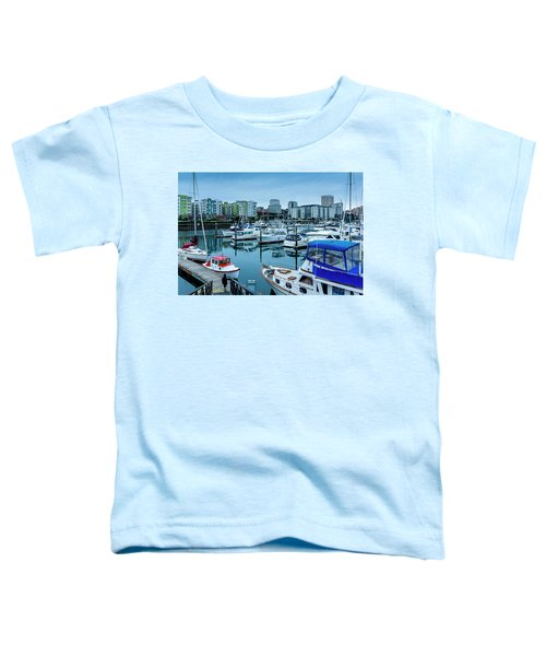 Tacoma Waterfront Marina,washington Toddler T-Shirt