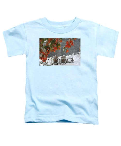 Take A Seat Toddler T-Shirt