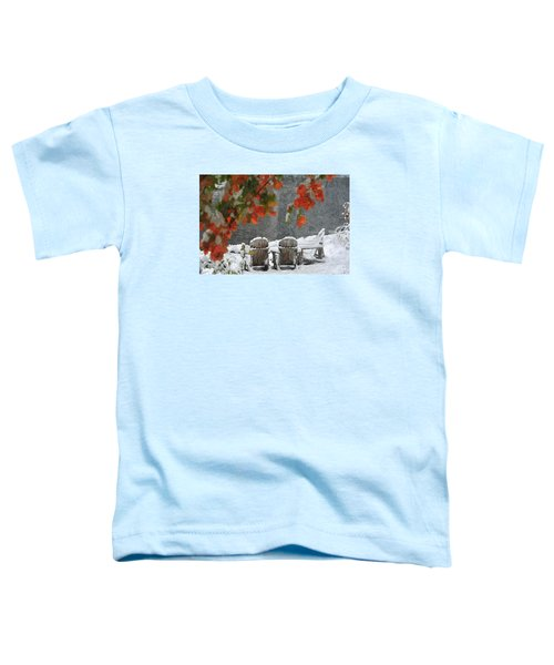 Take A Seat Toddler T-Shirt