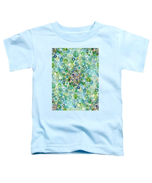 Teal And Olive Concavity Toddler T-Shirt