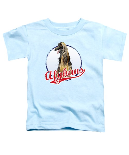 Team Afghan Hound Toddler T-Shirt