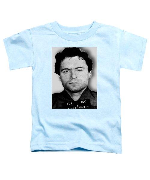 Ted Bundy Mug Shot 1980 Vertical  Toddler T-Shirt