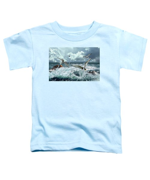Terns In The Surf Toddler T-Shirt