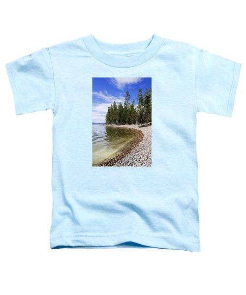 Teton Shore Toddler T-Shirt by Chad Dutson