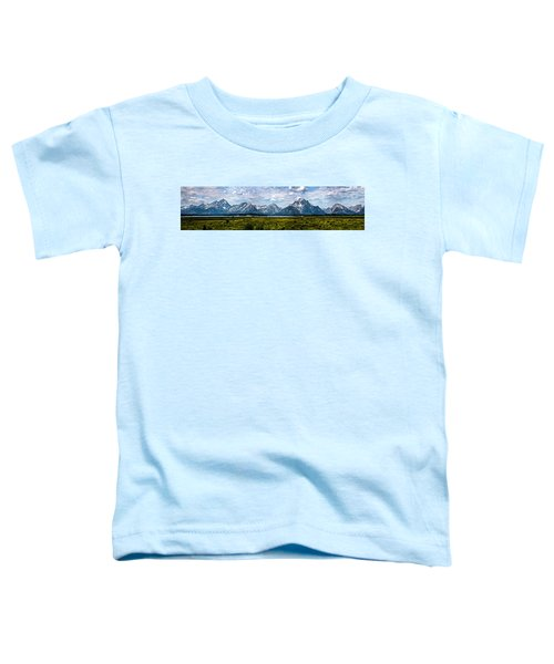 Tetons - Panorama Toddler T-Shirt