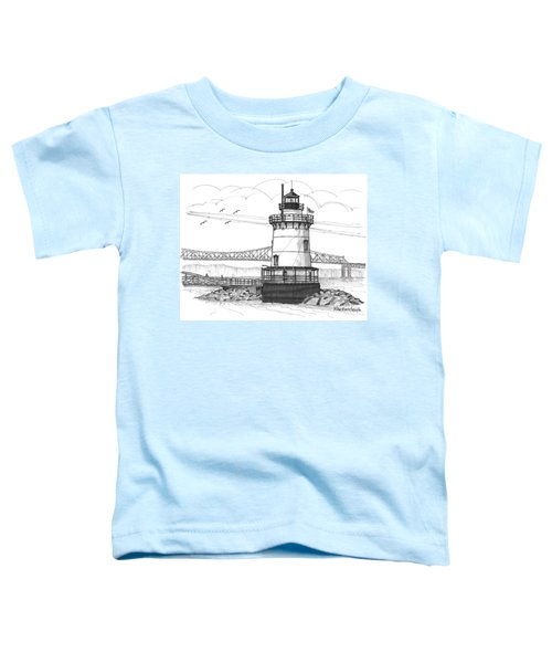 The 1883 Lighthouse At Sleepy Hollow Toddler T-Shirt