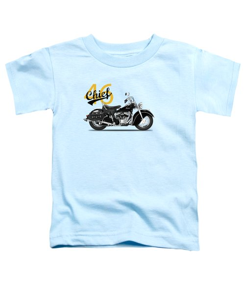 The 1946 Chief Toddler T-Shirt by Mark Rogan