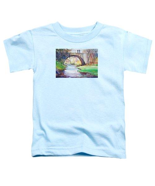 The Bridge Over Brewster Garden Toddler T-Shirt