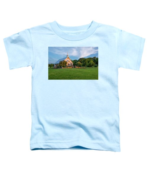 The Brooks At Weatherford Wedding Chapel Toddler T-Shirt