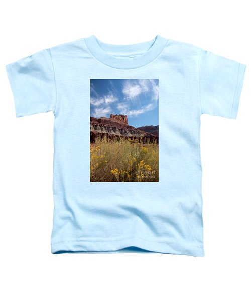 Rock Formation Capital Reef Toddler T-Shirt