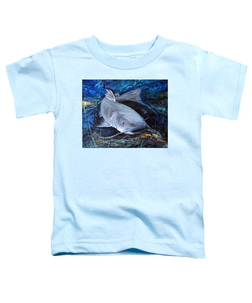 The Catfish And The Crawdad Toddler T-Shirt