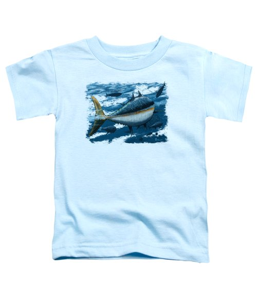 The Chase Toddler T-Shirt by Kevin Putman