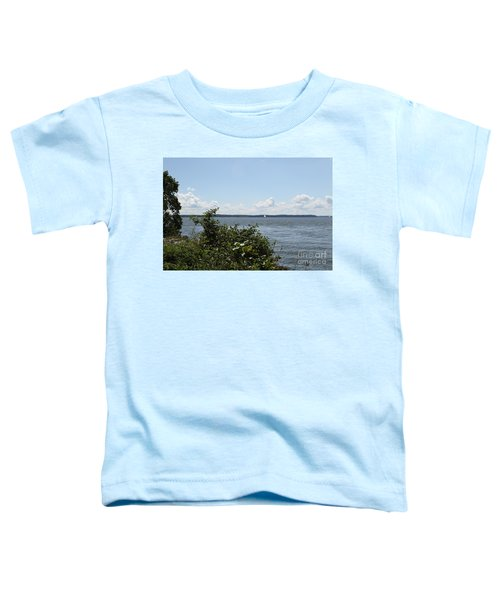 The Chesapeake From Turkey Point Toddler T-Shirt