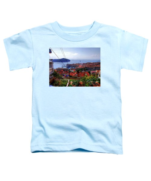 The Colourful City Of Dubrovnik Toddler T-Shirt