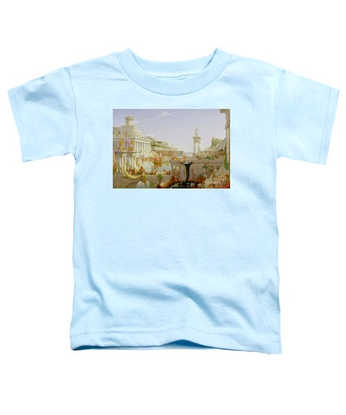 The Course Of Empire - The Consummation Of The Empire Toddler T-Shirt