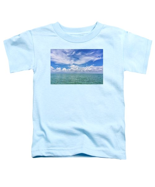 The Dance Of Clouds On The Sea Toddler T-Shirt