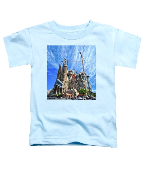The Expiatory Temple Of The Holy Family Toddler T-Shirt
