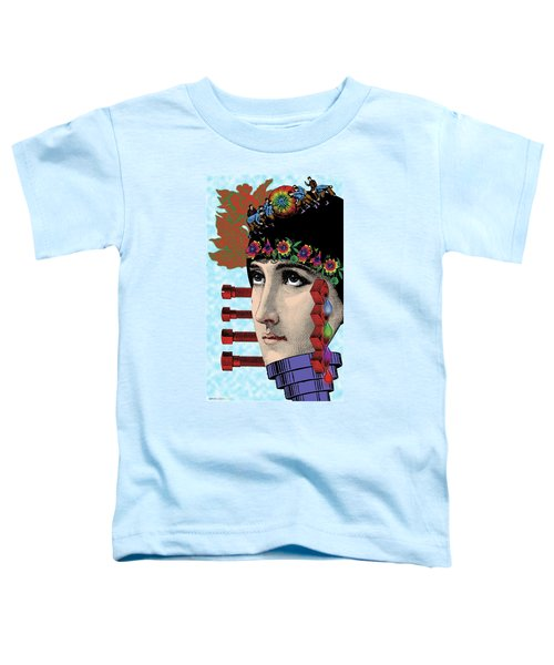 The Flow Of Memory Toddler T-Shirt