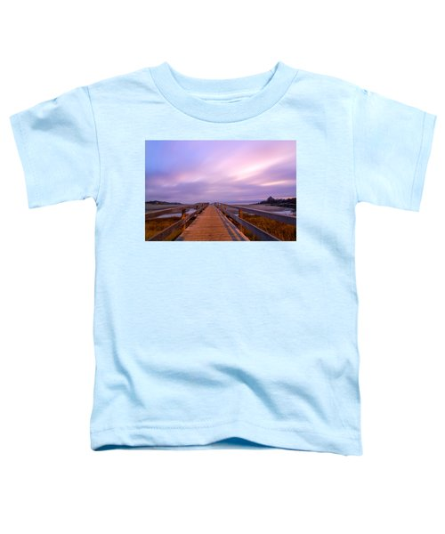 The Footbridge Good Harbor Beach Toddler T-Shirt