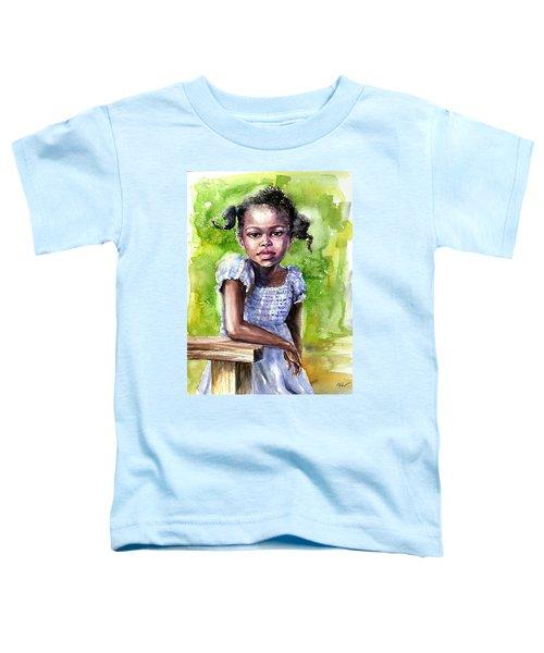 The Girl On The Veranda Toddler T-Shirt