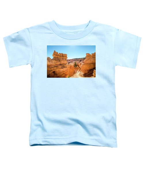 The Glowing Canyon Toddler T-Shirt