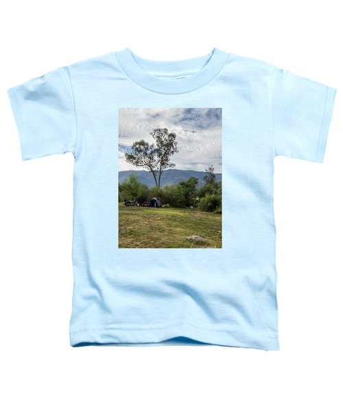 Toddler T-Shirt featuring the photograph The Good Life by Linda Lees