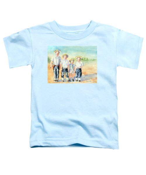The Happy Wranglers Toddler T-Shirt